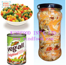 canned mixed vegatables